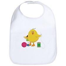 Sewing Chick Bib