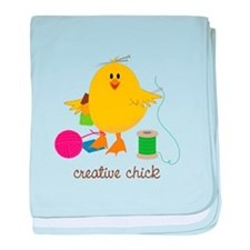 Creative Chick baby blanket