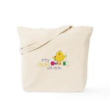 Artsy Chicks Tote Bag