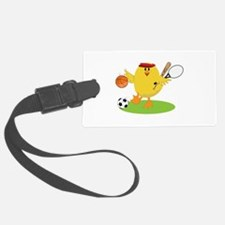 Sports Chick Luggage Tag