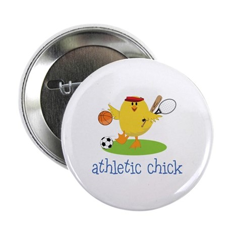 "Athletic Chick 2.25"" Button (10 pack)"