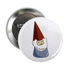 "Garden Gnome 2.25"" Button"
