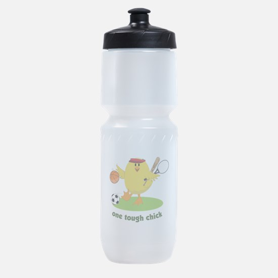 One Tough Chick Sports Bottle