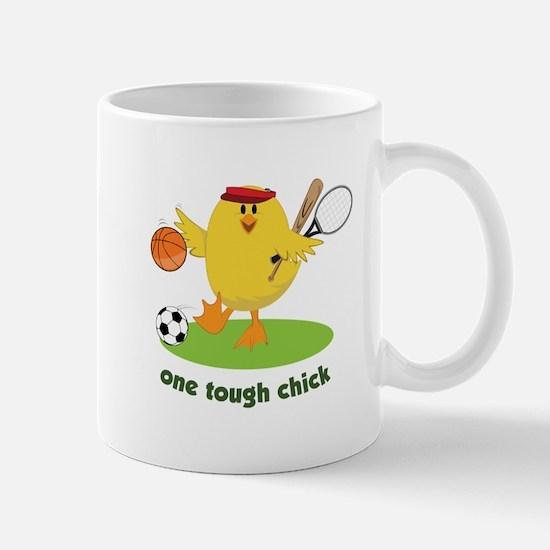 One Tough Chick Mugs