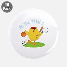 "Kick It 3.5"" Button (10 pack)"