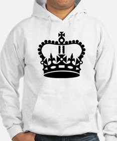 Black king crown Hoodie Sweatshirt