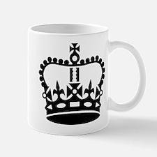 Black king crown Mug