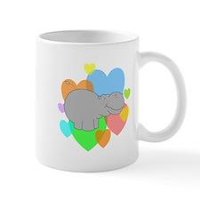 Hippo Hearts Mug