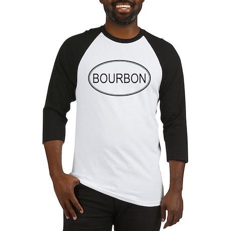 BOURBON (oval) Baseball Jersey