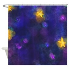 Cool Stary night Shower Curtain