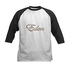 Gold name Eden Baseball Jersey