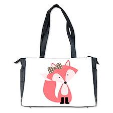Cute Foxes Diaper Bag