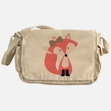 Cool Foxes Messenger Bag