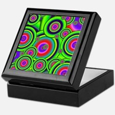 Psychedelic Spiral G Keepsake Box