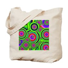 Psychedelic Spiral G Tote Bag