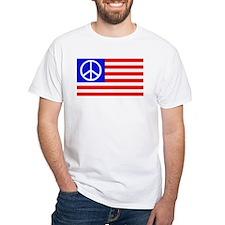 US flag peace Shirt