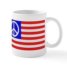 US flag peace Mug