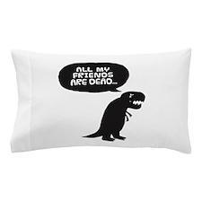 Sad Dinosaur Pillow Case