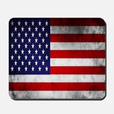 Vintage USA Flag Mousepad