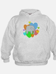 Elephant Hearts Hoodie