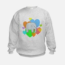 Elephant Hearts Sweatshirt
