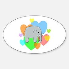 Elephant Hearts Decal