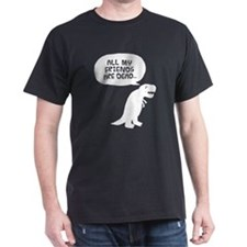Sad Dinosaur T-Shirt