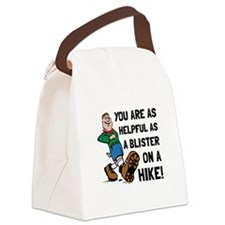 Blister On Hike Canvas Lunch Bag