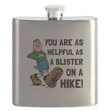 Blister On Hike Flask