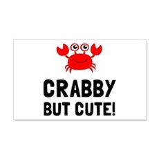 Crabby But Cute Wall Decal