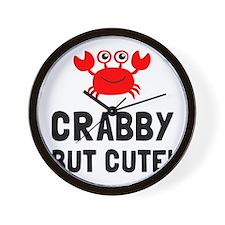 Crabby But Cute Wall Clock