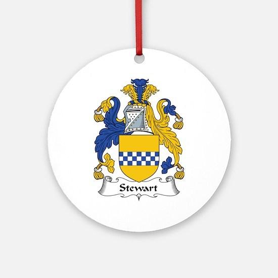 Stewart Ornament (Round)