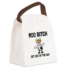 Moo Bitch Canvas Lunch Bag