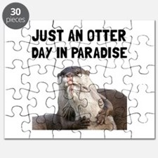 Otter Day Paradise Puzzle