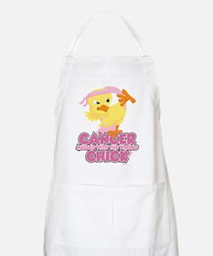 Breast Cancer Messed With Wrong Chick Apron