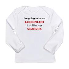 Accountant Like My Grandpa Long Sleeve T-Shirt