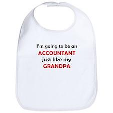 Accountant Like My Grandpa Bib