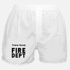 Fire Department Boxer Shorts