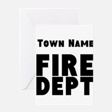 Fire Department Greeting Cards