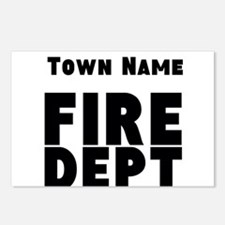 Fire Department Postcards (Package of 8)