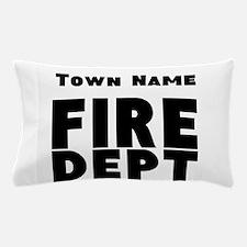 Fire Department Pillow Case