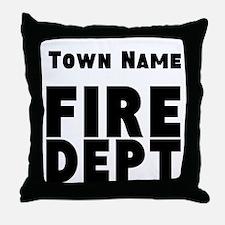 Fire Department Throw Pillow
