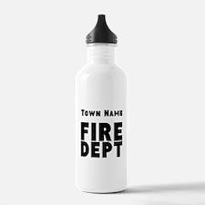 Fire Department Water Bottle