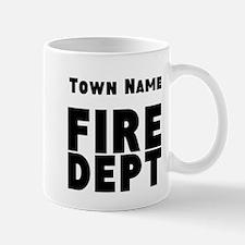 Fire Department Mugs