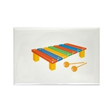 Colored Childrens Xylophone Magnets