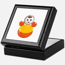 Childrens Girl Figure Toy Keepsake Box