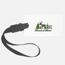 Sounds Of Silence Luggage Tag