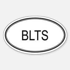 BLTS (oval) Oval Decal
