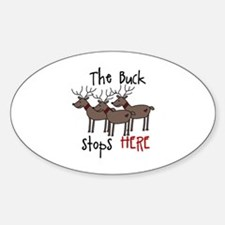 The Buck Stops Here Decal