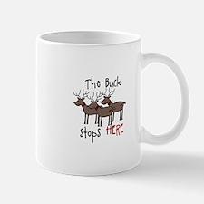 The Buck Stops Here Mugs